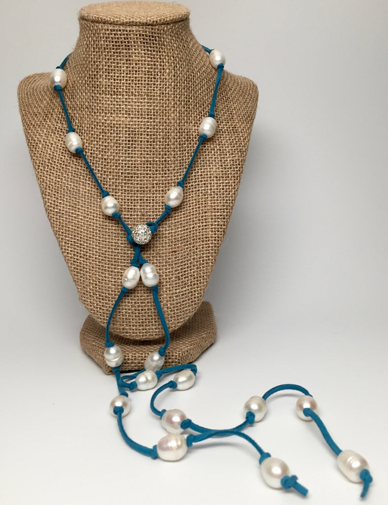 Necklace - Grace Necklace - Turquoise