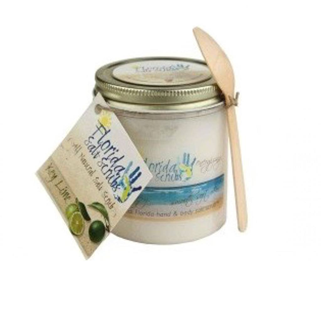 Salt Scrubs - Salt Scrub - Key Lime - Large