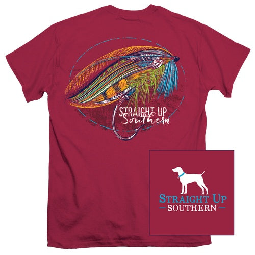 Shirt Boys - Lure Em Shirt - Garnet - Youth