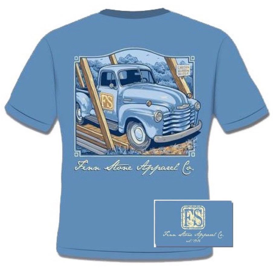 Shirt - Finn's Truck Shirt - Ice Blue