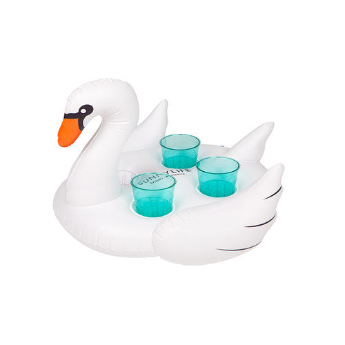 Inflatable Swan Drink Holder - Apollo