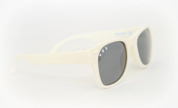 Sunglasses - Adult Shades - Ice Ice Baby White - L/XL