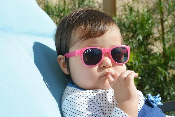 Sunglasses - Baby Shades -  Kelly Kapowski Pink