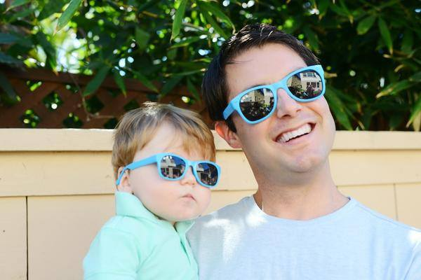 Sunglasses - Baby Shades -  Zack Morris Blue