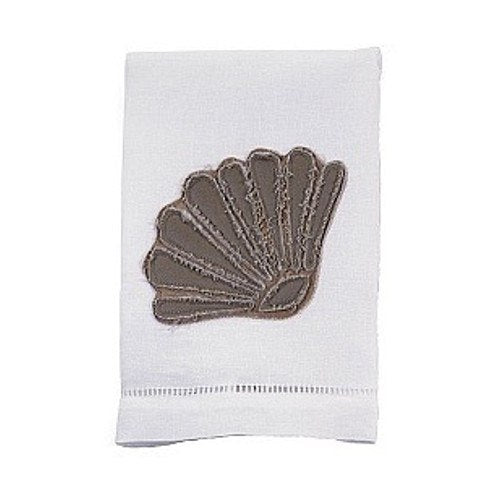 Towel - Scallop Shell Linen Towel