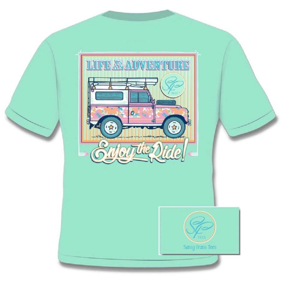 Women's Shirt - Adventures Shirt - Island Reef