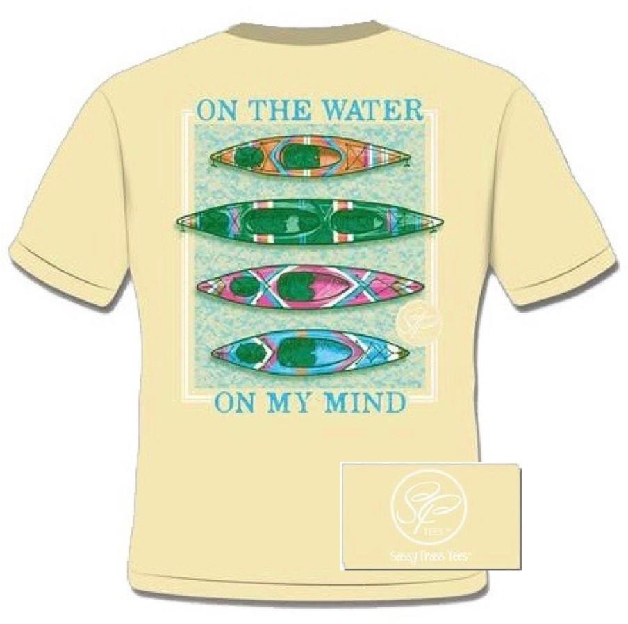 Women's Shirt - Water On My Mind Shirt - Banana