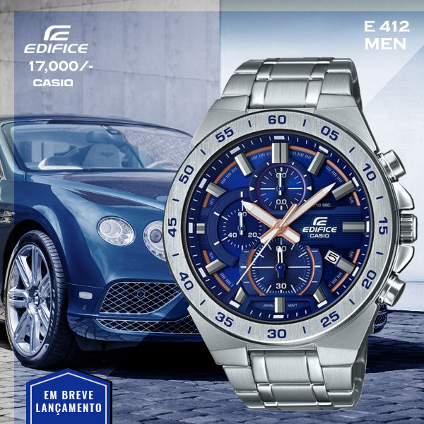 Casio Edifice for Men E 412 (Special Offer)