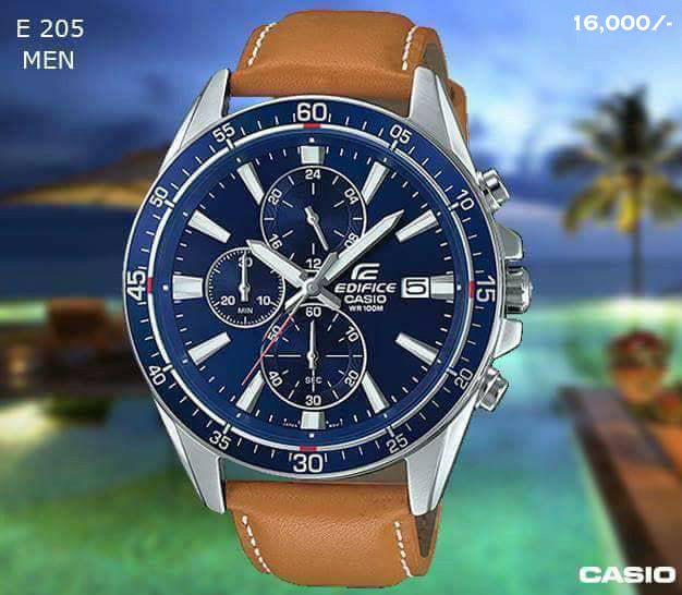 Casio Edifice for Men E 205 (Special Offer)