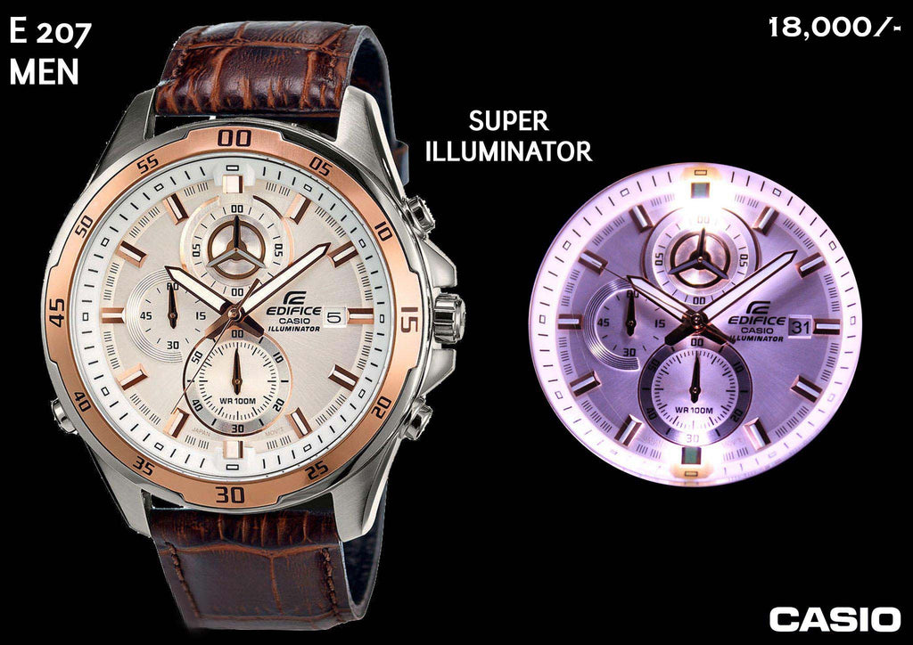 Casio Edifice Iluminator for Men E 207 (Special Offer)