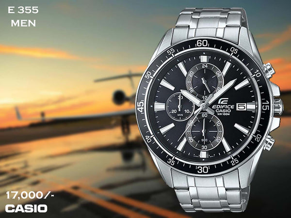 Casio Edifice Exclusive Stainless Steel for Men E 355 (Special Offer)