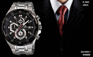 Casio Edifice for Men E 390 (Special Offer)