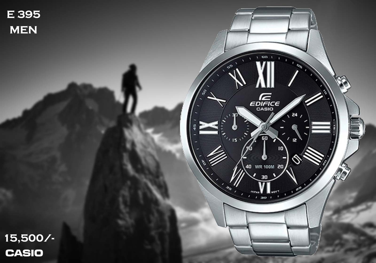 Casio Edifice for Men E 395 (Special Offer)