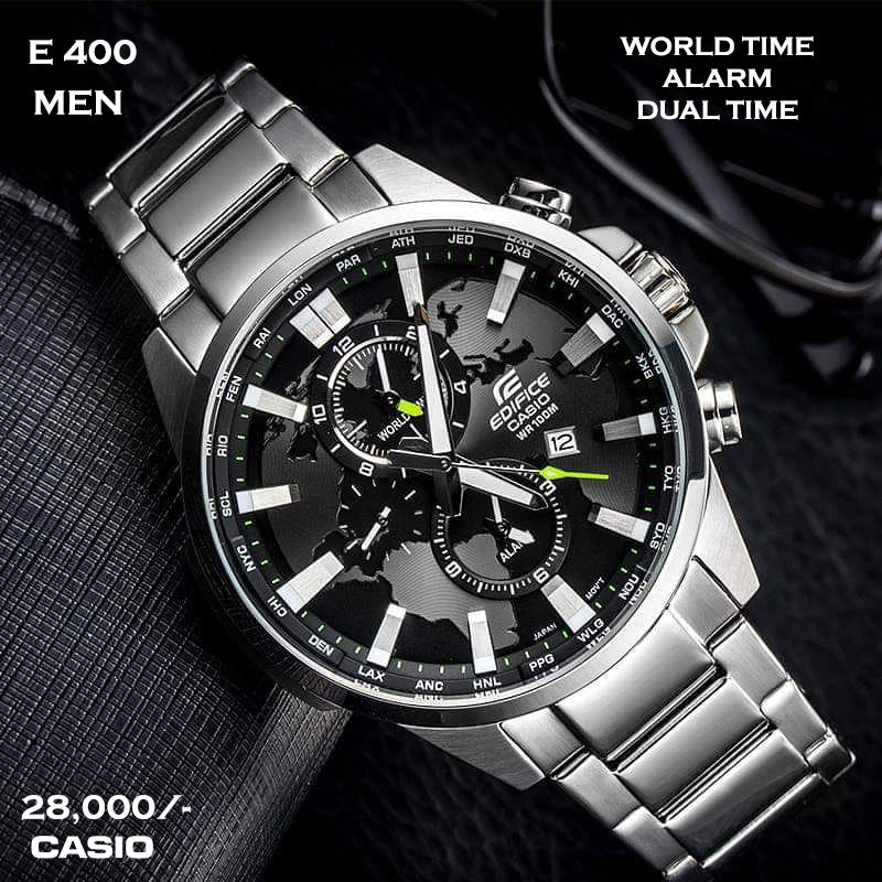 Casio Edifice for Men E 400 (Special Offer)