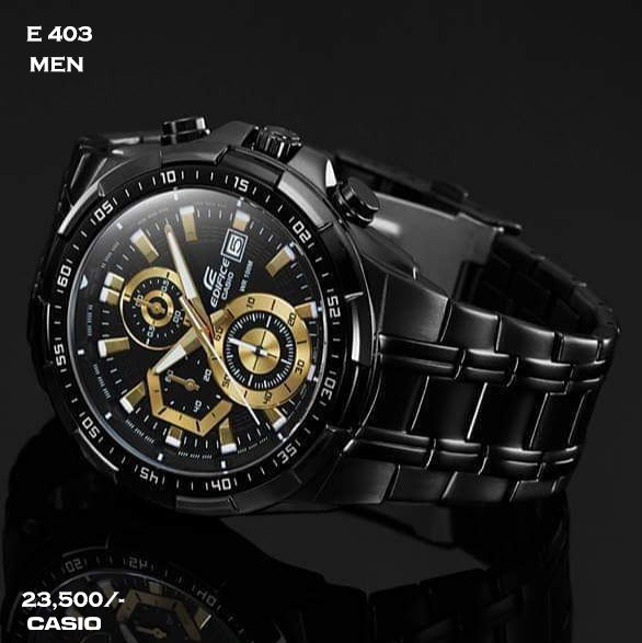 Casio Edifice for Men E 403 (Special Offer)