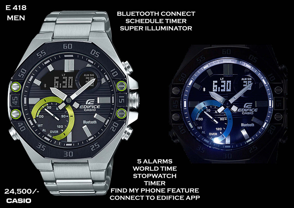 Casio Edifice Bluetooth Connect for Men E 418