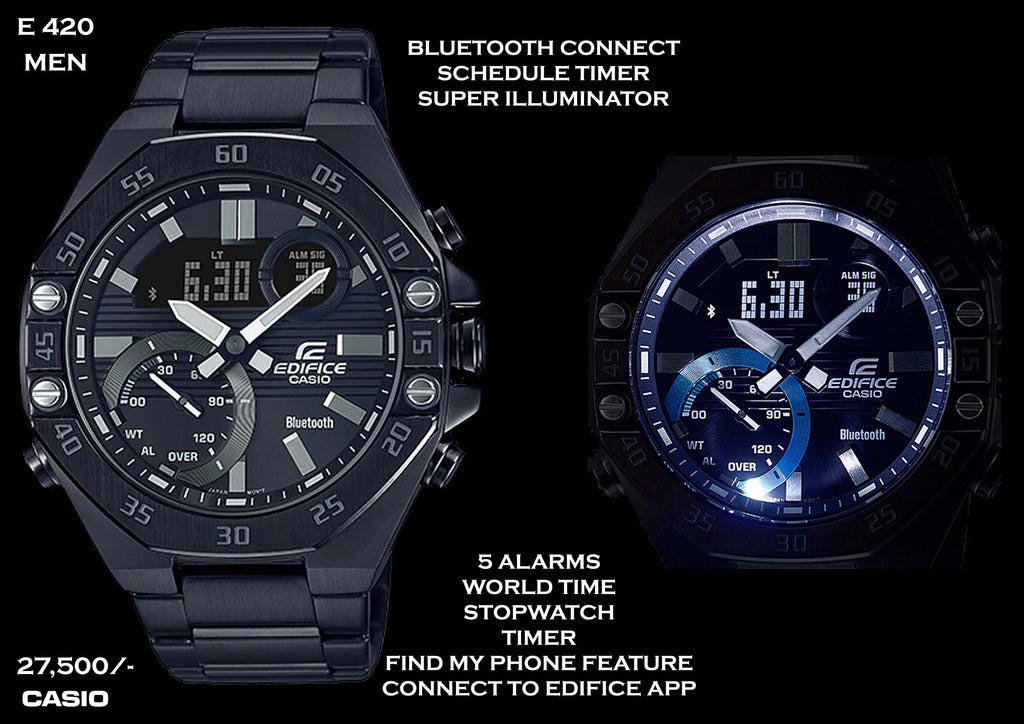 Casio Edifice Bluetooth Connect for Men E 420