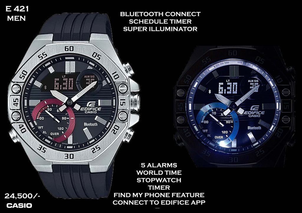 Casio Edifice Bluetooth Connect for Men E 421