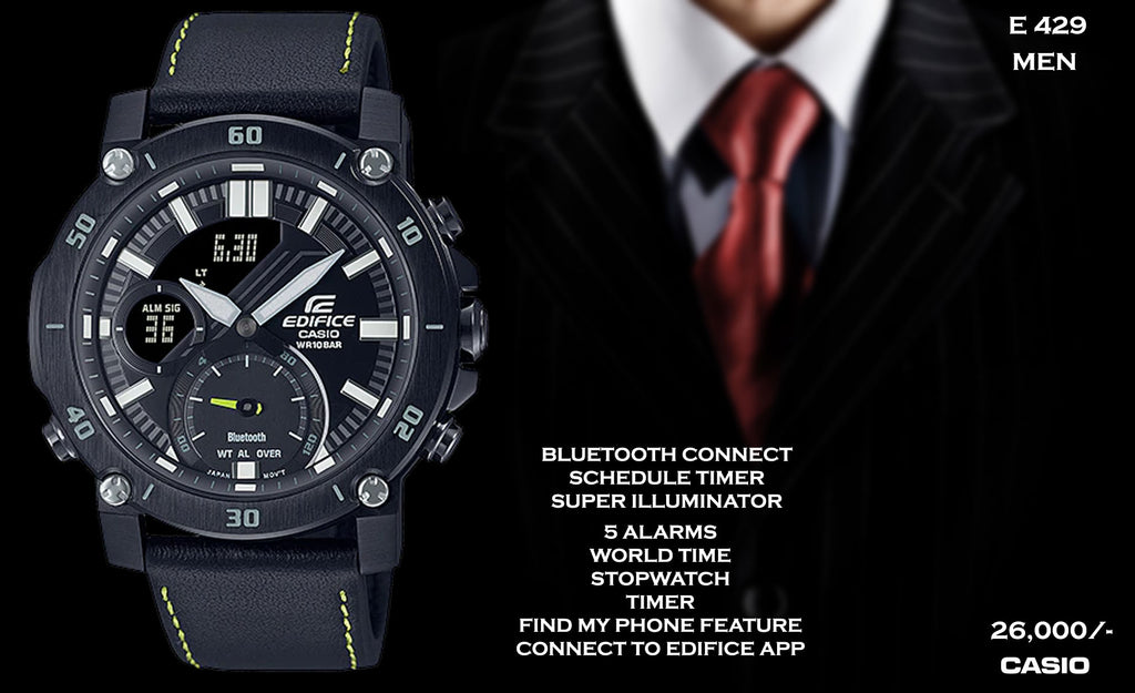 Casio Edifice Bluetooth Connect for Men E 429