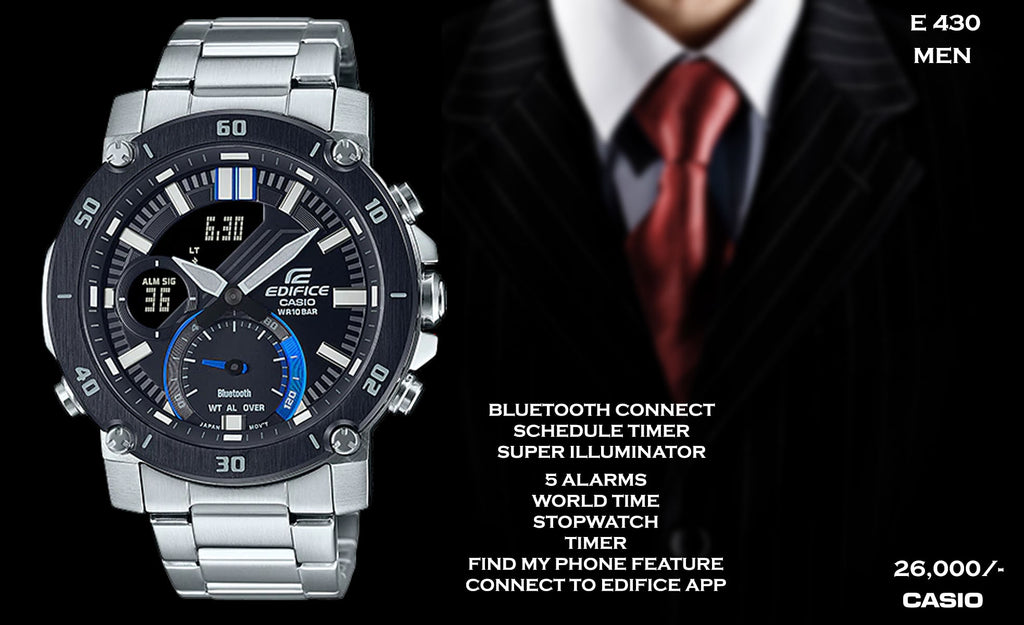Casio Edifice Bluetooth Connect for Men E 430