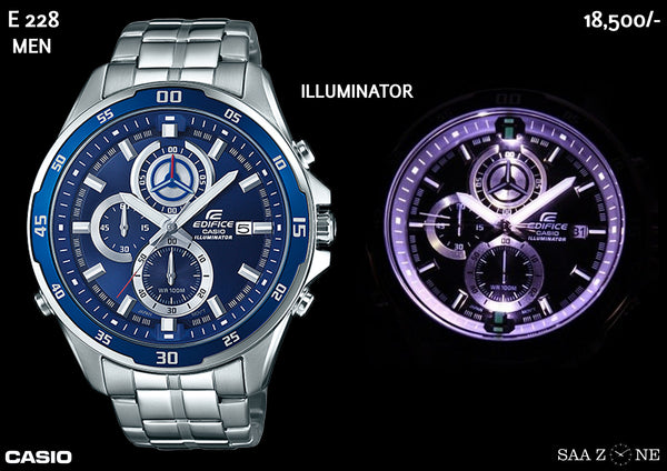 Casio Edifice Illuminator E 228