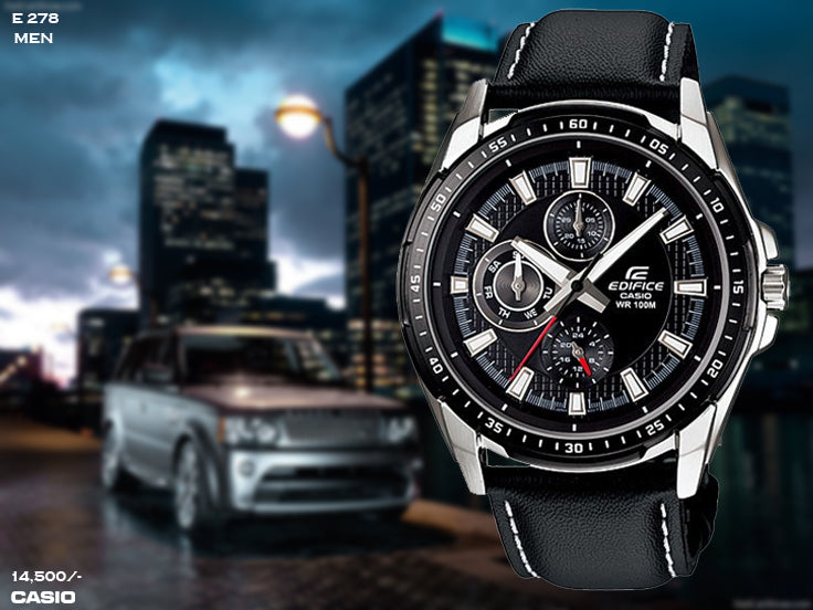 Casio Edifice for Men E 278