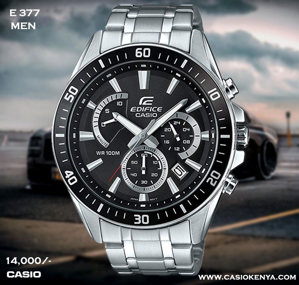 Casio Edifice for Men E 377 (Special Offer)