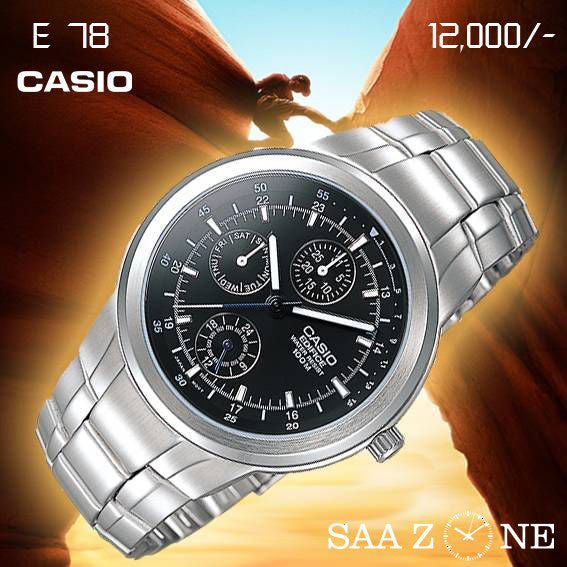 Casio Edifice with Blue Luminous hands for Men
