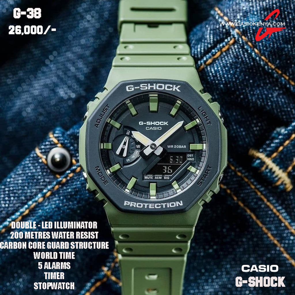 Casio G-SHOCK for Men G 38