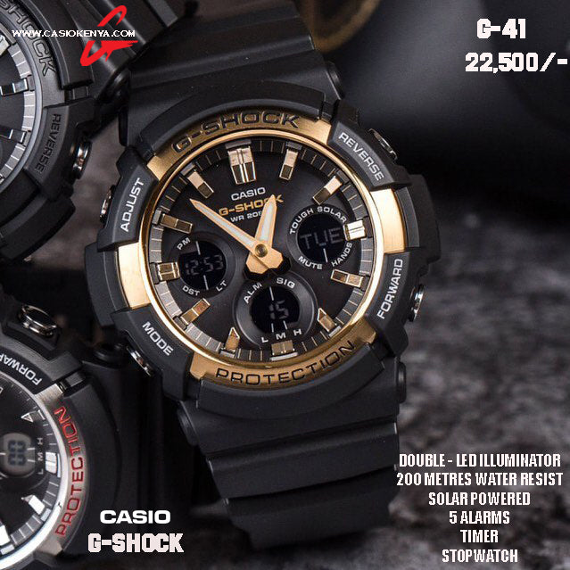 Casio G-SHOCK for Men G 41 SOLAR POWERED
