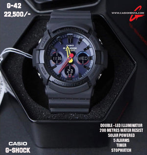 Casio G-SHOCK for Men G 42 SOLAR POWERED