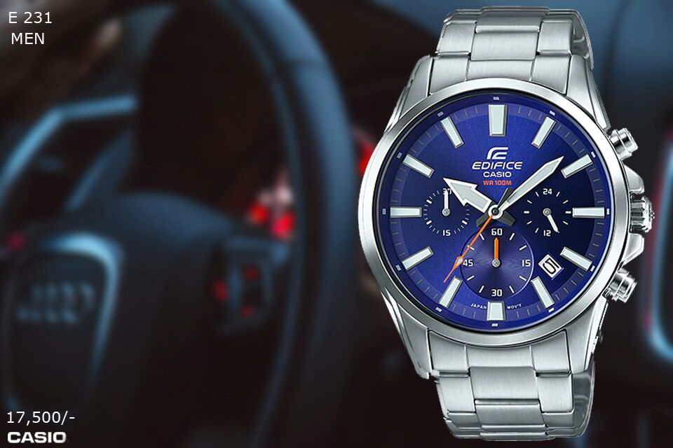 Casio Edifice for Men E 231