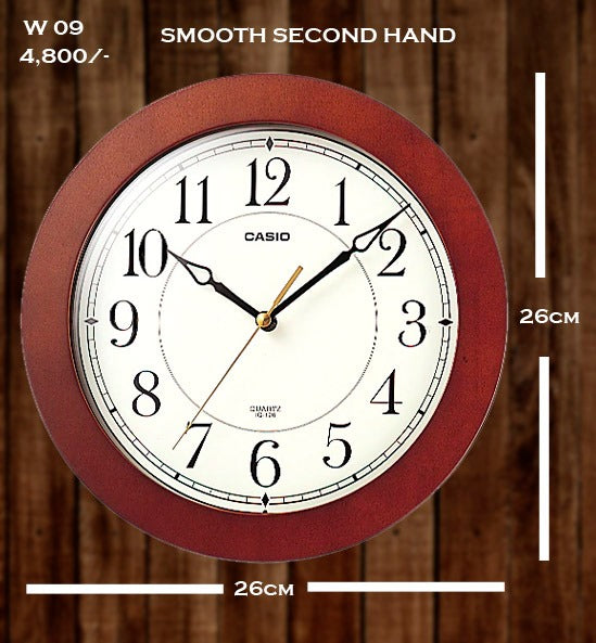 Casio Wallclock W 09
