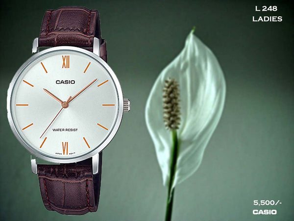 Casio Exclusive Ladies Leather Belt L 248