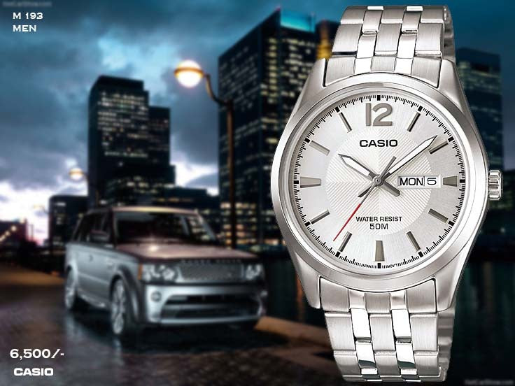 Casio Exclusive Stainless Steel for Men M 193