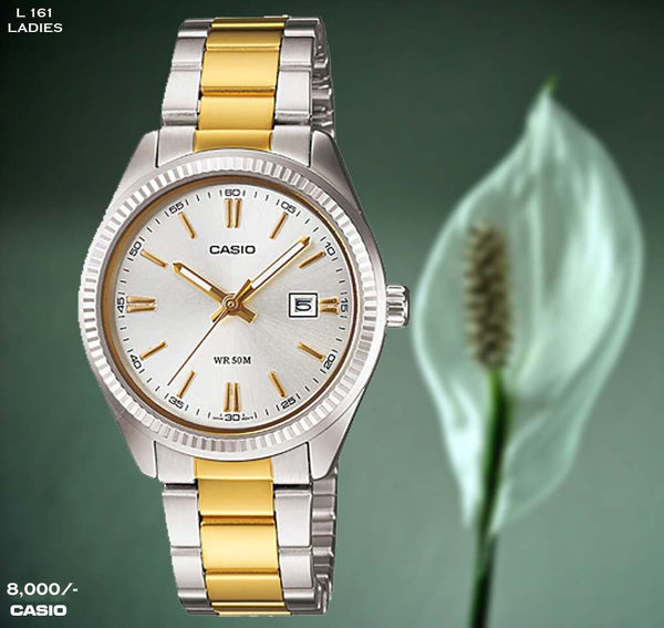 Casio Ladies Steel Belt L 161