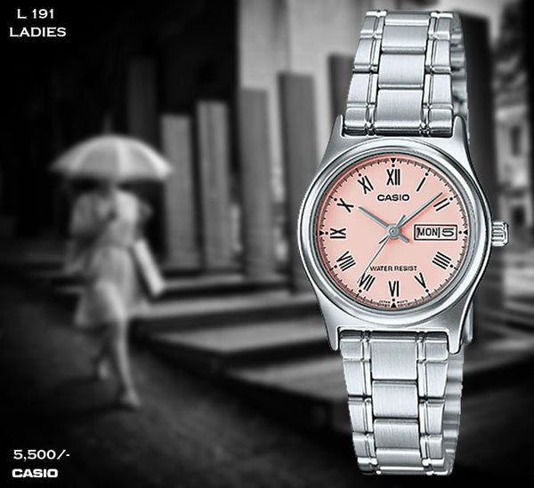 Casio Ladies Steel Belt L 191