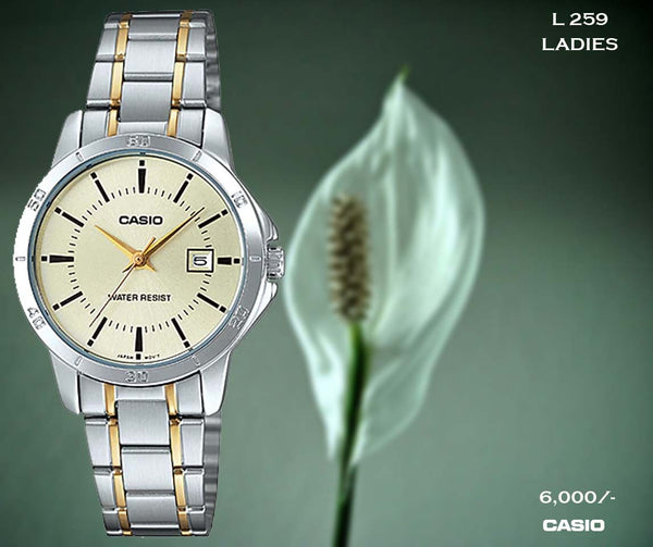 Casio Ladies Steel Belt L 259