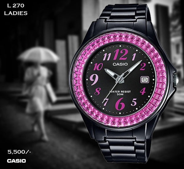 Casio Ladies Rubber Belt L 270
