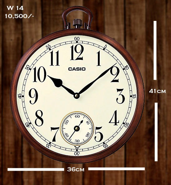 Casio Wallclock W 14