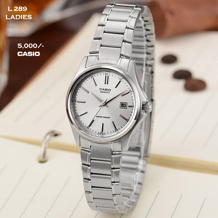 Casio Stainless Steel Belt for Ladies L 289