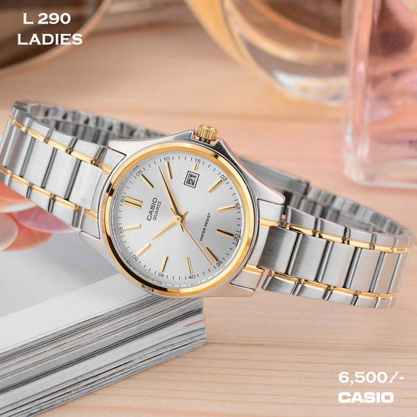Casio Stainless Steel Belt for Ladies L 290
