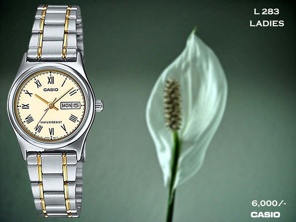 Casio Ladies Steel Belt L 283