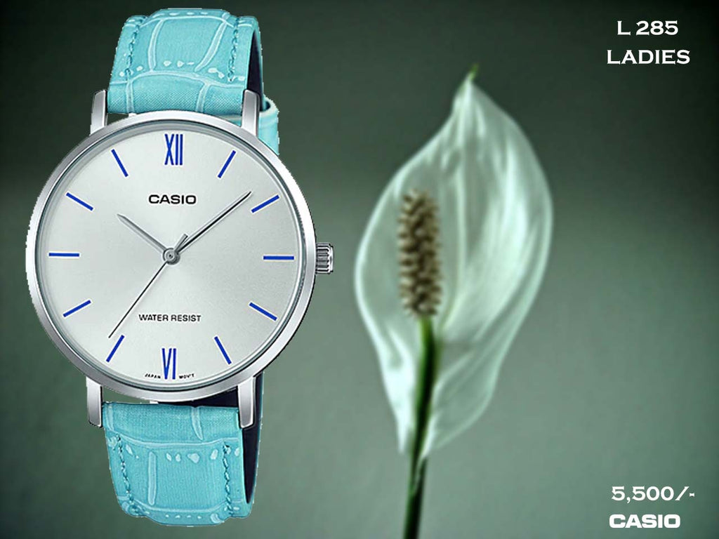 B Casio Exclusive Ladies Leather Belt L 285