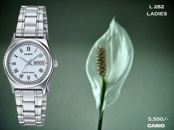 Casio Ladies Steel Belt L 282
