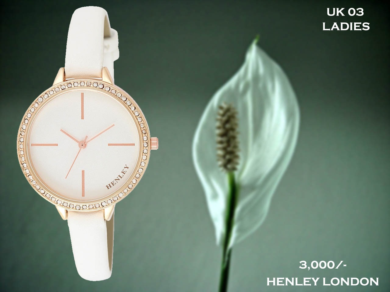 Henley London Exclusive Ladies Timepiece UK 03