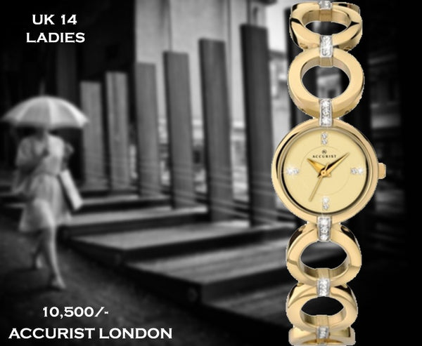Accurist Exclusive Ladies Timepiece UK 14