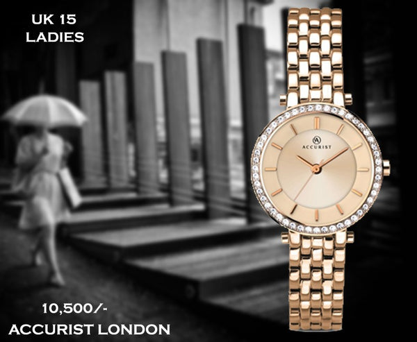 Accurist Exclusive Ladies Timepiece UK 15