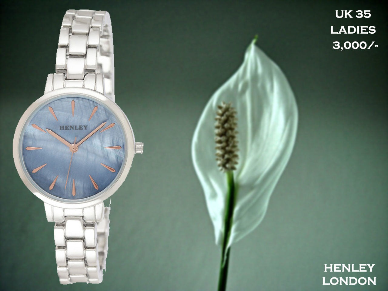 Henley London Exclusive Ladies Timepiece UK 35