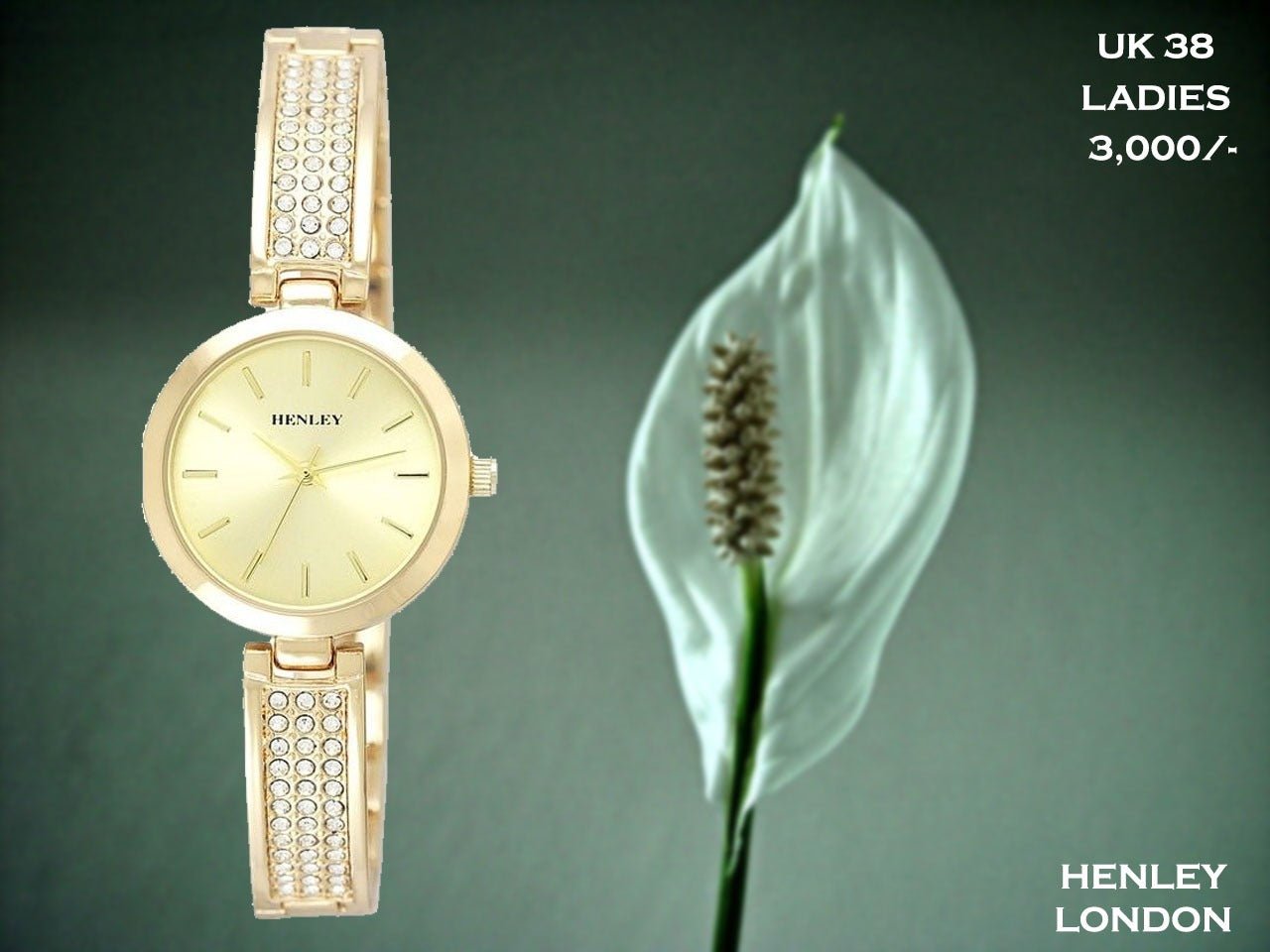 Henley London Exclusive Ladies Timepiece UK 38